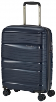 Travelite 'Motion' 4-Rad Bordtrolley 55cm Polypropylen 2,0kg 37l marine