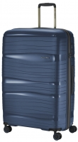 Travelite 'Motion' 4-Rad Trolley L 77cm Polypropylen 3,4kg 105l marine