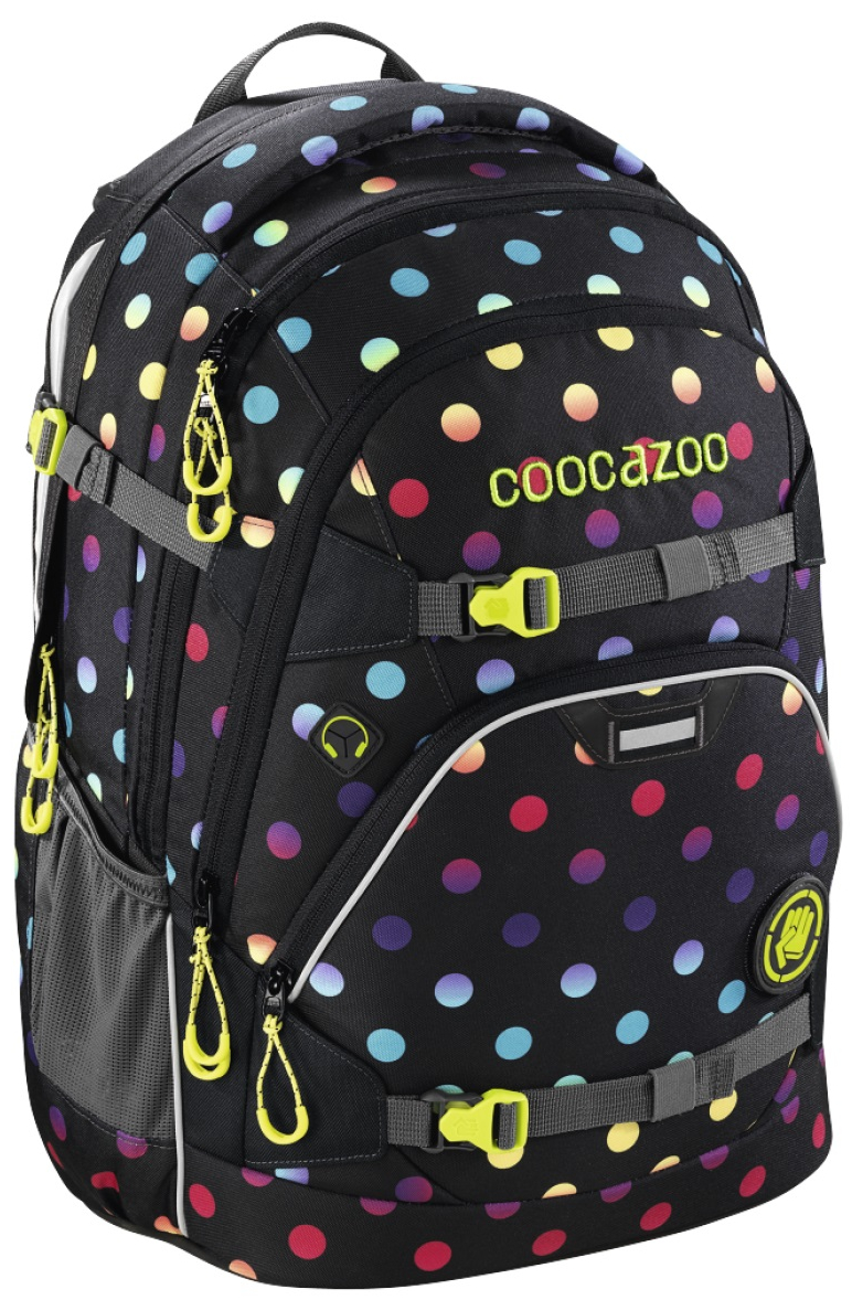 Coocazoo 'ScaleRale' Schulrucksack 30l 1,2kg magic polka colorful
