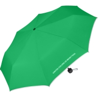 "Benetton ""Super Mini solid"" Faltschirm green"