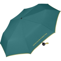 "Benetton ""Super Mini solid"" Faltschirm fanfare green"