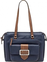 "Tamaris ""Lee"" Shoulder Bag navy combination Grainy"