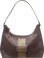 "Tamaris ""Lee"" Hobo Bag dark brown combination Grainy"