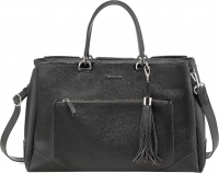 "Tamaris ""Melanie"" Business Bag black Saffiano"