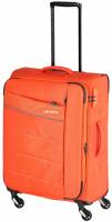 Travelite 'Kite' 4-Rad Trolley 64cm erweiterbar 2,5kg 67/77l orange