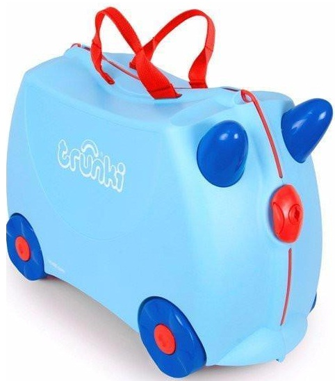 Trunki 'George Blue' Ride-on suitcase Kindertrolley