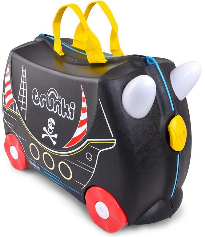 Trunki 'Pedro Pirate' Ride-on suitcase Kindertrolley