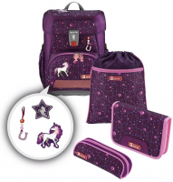 "Step by Step ""Dreamy Unicorn"" Cloud Limited Edition Schulranzenset 5tlg"