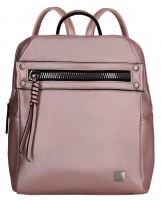 Titan 'Spotlight Zip' Backpack Metallic Pink