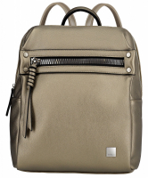 "Titan ""Spotlight Zip"" Backpack Metallic Gold"