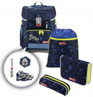 "Step by Step ""Starship"" e-Space Schulrucksack-Set 5tlg."