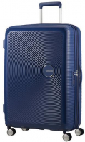 American Tourister 'Soundbox' Spinner 77cm 4,2kg 97/110l denim blue