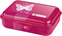 "Step by Step ""Shiny Butterfly"" Lunchbox mit herausnehmbarer Trennwand 0,9l"