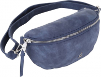 "Prato fashion ""Joyce"" Gürteltasche Vintage PU denim blue"