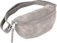 "Prato fashion ""Joyce"" Gürteltasche Vintage PU light grey"