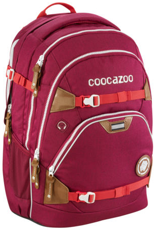 Coocazoo 'ScaleRale' Schulrucksack 1,2kg 30l limited edition bold berry