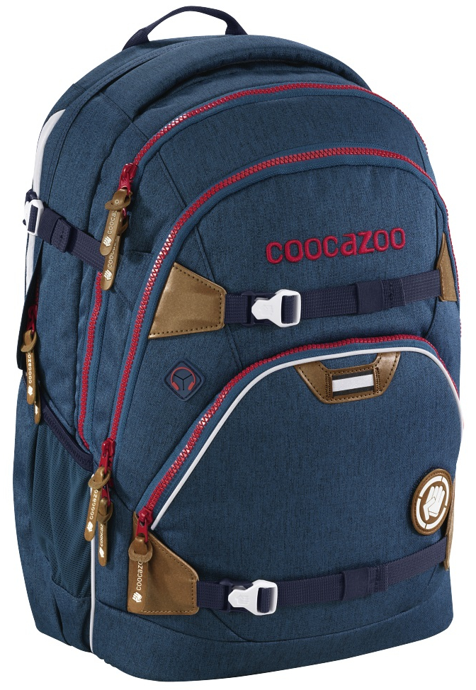 Coocazoo 'ScaleRale' Schulrucksack 1,2kg 30l limited edition silent sea