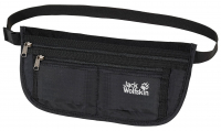"Jack Wolfskin ""Document Belt De Luxe"" Gürteltasche black"
