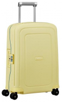 Samsonite 'S`Cure' 4-Rad Trolley 55cm 2,9kg 34l pastel yellow stripe