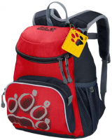 Jack Wolfskin 'Little Joe' Kinderrucksack 11 Liter peak red