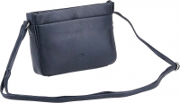 "Prato leather fashion ""Cambridge"" Damenttasche echt Rindleder dark blue"