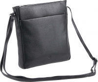 "Prato leather fashion ""Cambridge"" Damentasche echt Rindleder black"
