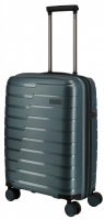 Travelite 'Air Base' 4-Rad Trolley S 55cm 2,1kg 37l eisblau