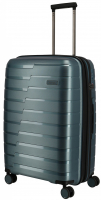 Travelite 'Air Base' 4-Rad Trolley M erweiterbar 67cm 3,2kg 71/82l eisblau