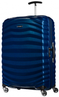 "Samsonite ""Lite-Shock"" 4-Rad Trolley 75cm 98,5l 2,5kg deep blue"