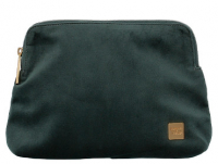 Titan 'Barbara Velvet' Cosmetic Bag 1,4l Polyester forest green