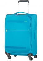 "American Tourister ""Herolite"" 4-Rollen Trolley 55cm 1,5kg 42l mighty blue"