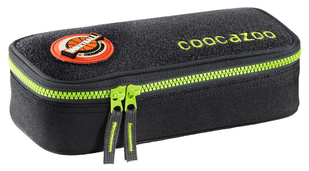Coocazoo 'PencilDenzel' Schlamperetui limited edition patchy black/green