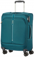 "Samsonite ""Popsoda"" 4-Rad Bordtrolley 55cm 40l 2,3kg teal"