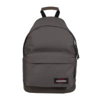 Eastpak 'Wyoming' Rucksack 24L mit Lederboden simple grey