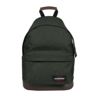 Eastpak 'Wyoming' Rucksack mit Lederboden 24l Into crafty moss