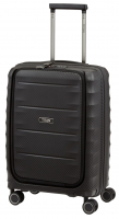 "Titan ""Highlight"" 4-Rad Trolley Bordgepäck Vortasche 55cm 2200g 38l Polypropylene schwarz"