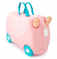 Trunki 'Flossi der Flamingo' Ride-on suitcase Kindertrolley