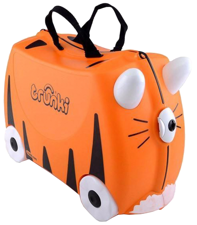 Trunki 'Tipu Tiger' Ride-on suitcase Kindertrolley