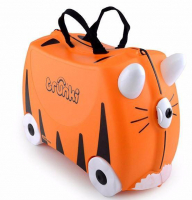"Trunki ""Tipu Tiger"" Ride-on suitcase Kindertrolley"