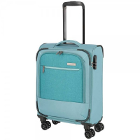 "Travelite ""Arona"" 4-Rad Bordtrolley 55cm 2,60kg 33l aqua"