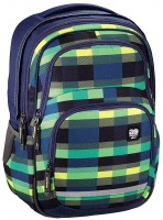 "All Out ""Blaby"" Rucksack 24l 900g Summer Check Green"