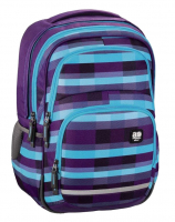 "All Out ""Blaby"" Rucksack 24l 900g Summer Check Purple"
