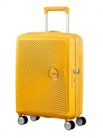 "American Tourister ""Soundbox"" Spinner 55cm 2,6kg 35,5/41l golden yellow"