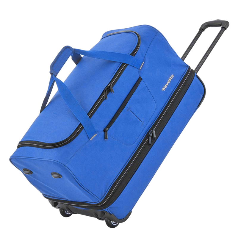 "Travelite ""Basics"" Trolley RT 70cm 2,8kg 98/119l royal blau"