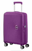 "American Tourister ""Soundbox"" Spinner 55cm 2,6kg 35,5/41l purple orchid"