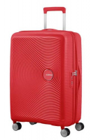 "American Tourister ""Soundbox"" Spinner 67cm 3,7kg 71,5/81l coral red"