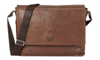 Joop Brenta 'Kimon' Messenger SHF echt Leder dark brown