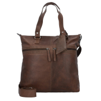 "The Chesterfield Brand ""Cleo"" Shopper groß echt Leder taupe"