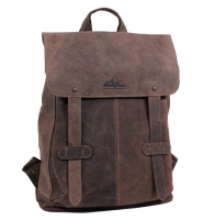 Hunter Collection Bayern Bag Rucksack echt Rindleder braun