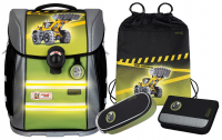 "McNeill ""Bulldozer"" Schulrucksackset Ergo Light Primero Mc Light 4tlg."